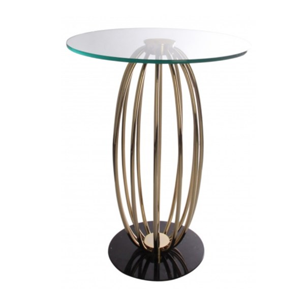 Armond 24k Gold Luxury Side Table