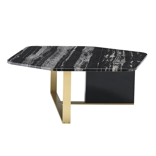 Touched D Smoke Grey Avellino Coffee Table