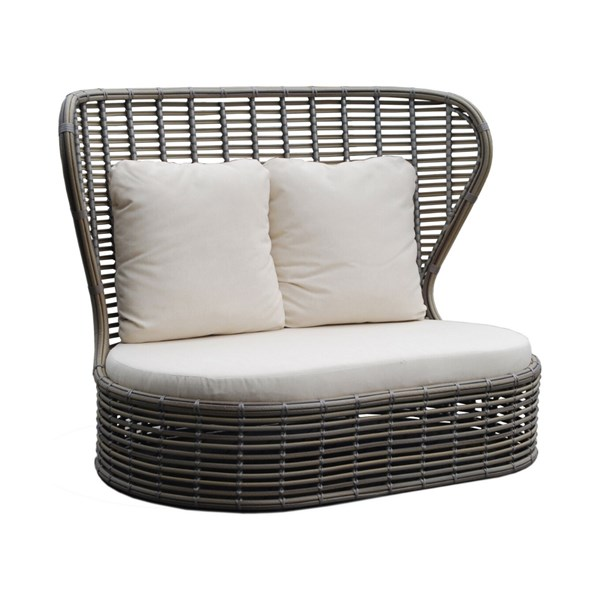 Bakari Outdoor Love Seat