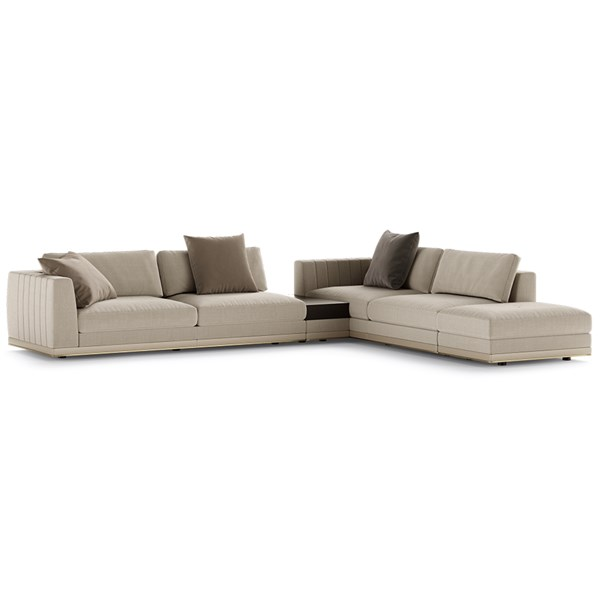Castle Modular Sofa with Side Table