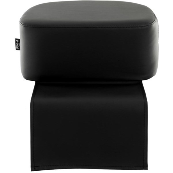 Domino Upholstered Black Padded Child Booster Seat