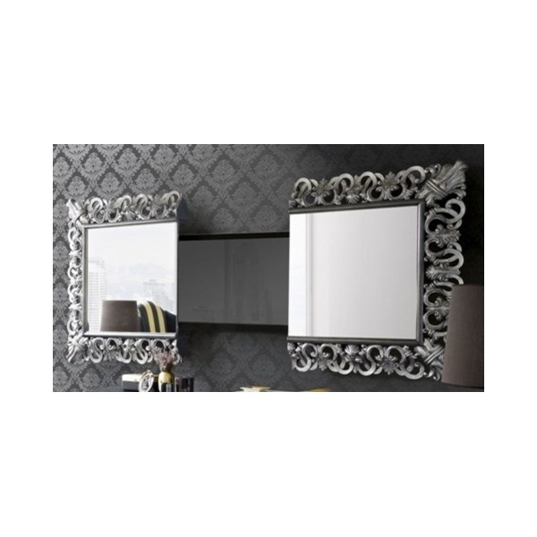 Automatic electronic television mirror wall stand