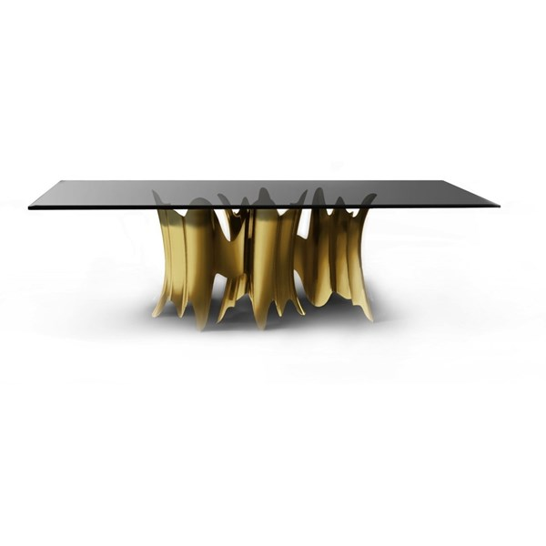 Gold Plated Aurous Dining Table
