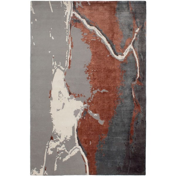 Hand Knotted Tonal Earth Rug