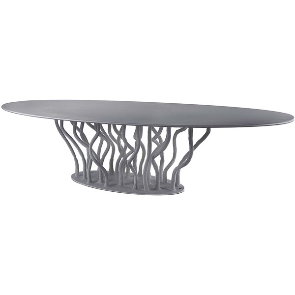Impress Caliber Outdoor Lacquered Fibreglass Oval Dining Table