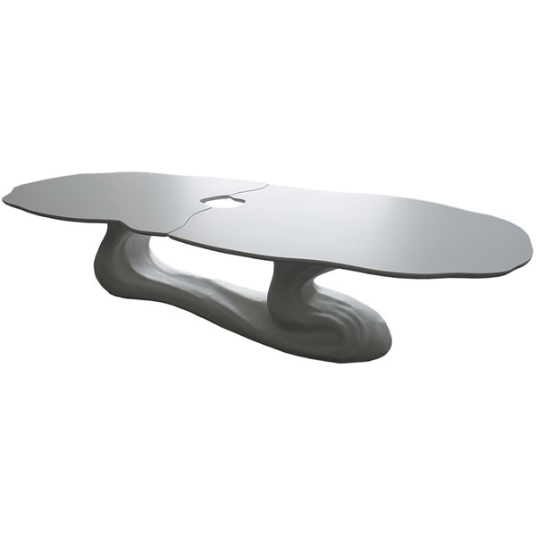 Impress Saga Outdoor Lacquered Fibreglass Oval Dining Table