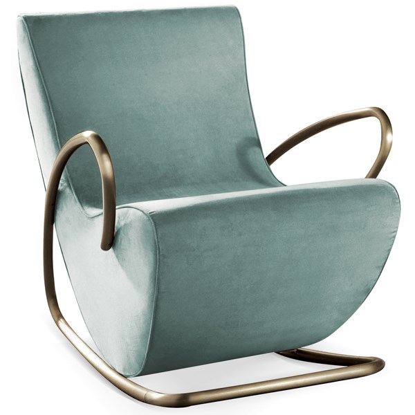 Jardinico Luxury Rocking Chair with Bronze Detailing