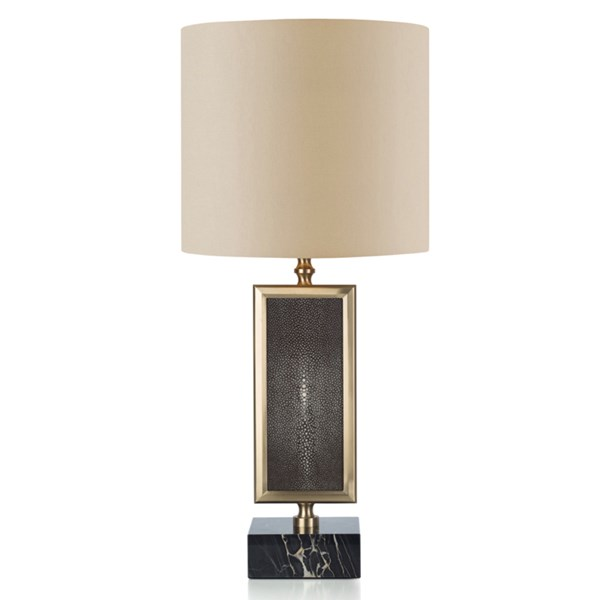 Upholstered Leather Levanzo Table Lamp