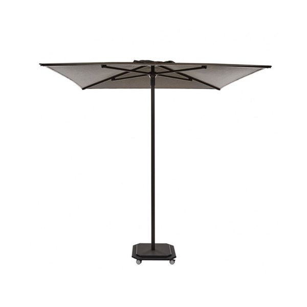 Luxury Square Parasol with Mobile Base