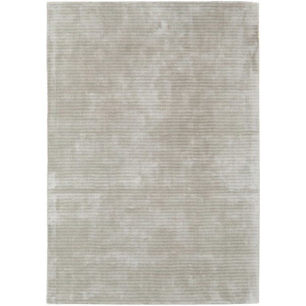 Luxury sheen stripe deep pile feather rug