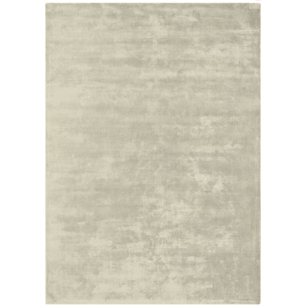 Luxury silky smooth deep pile pearl rug