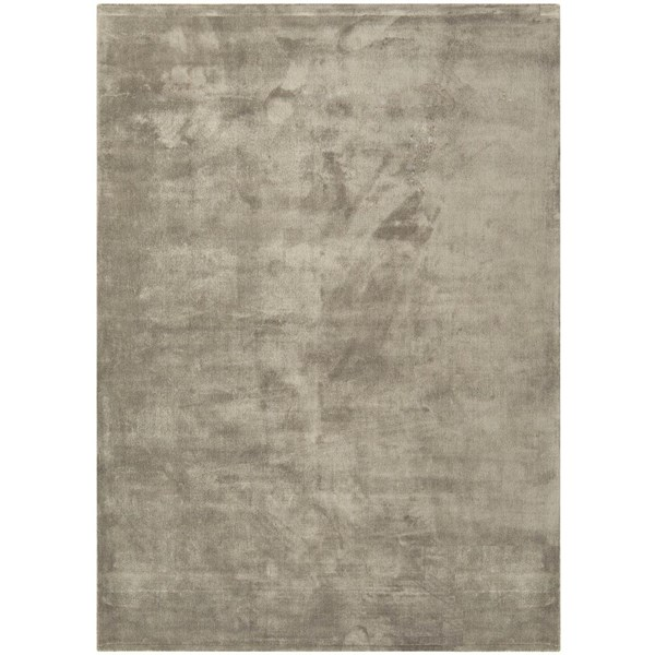 Luxury silky smooth deep pile putty rug