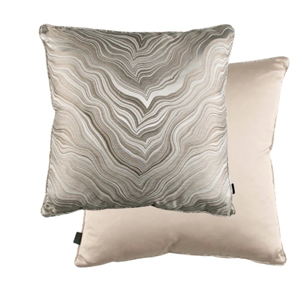 Marbleous Linen Luxury Feather Padded Cushion