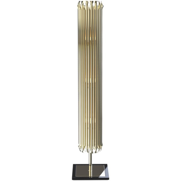Marquis Gold Plated Brass Floor Light