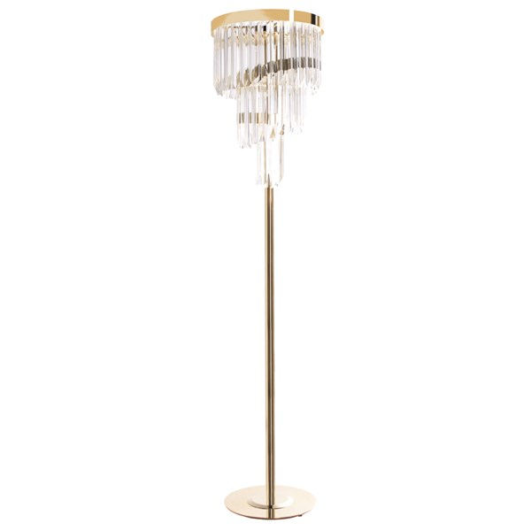 Luxury Medici Brass Floor Lamp