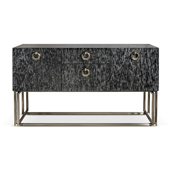 Perla Luxury Italian Sideboard with Pale Gold Detailing