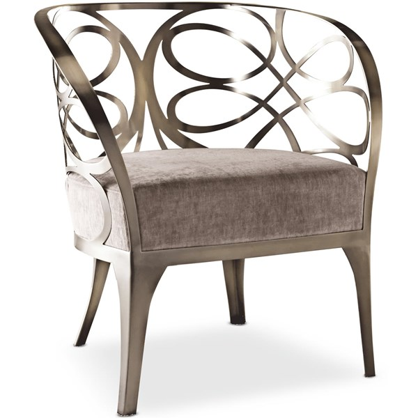 Sala Armchair with Ornamental Iron Detailing