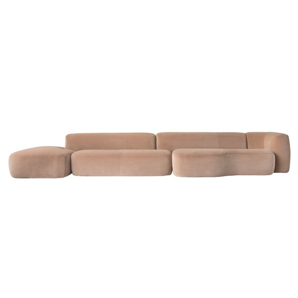 Touched D Upholstered Sectional Santos Sofa