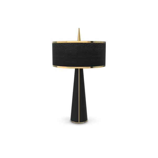 Seattle Gold Plated Luxury Table Lamp