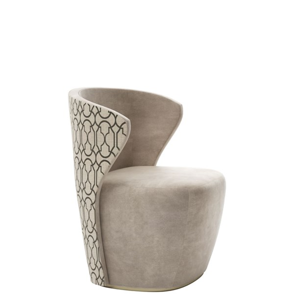 Serenity High Back Occasional Tub Chair