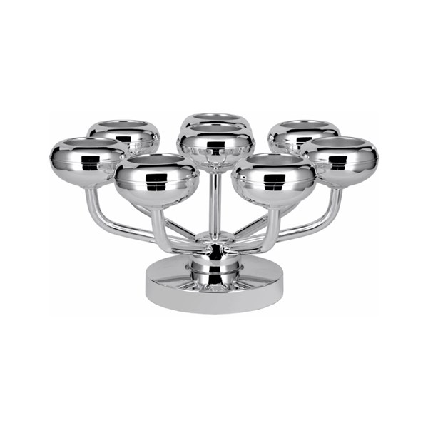 Silver-Plated Luxury Tea Light Stand