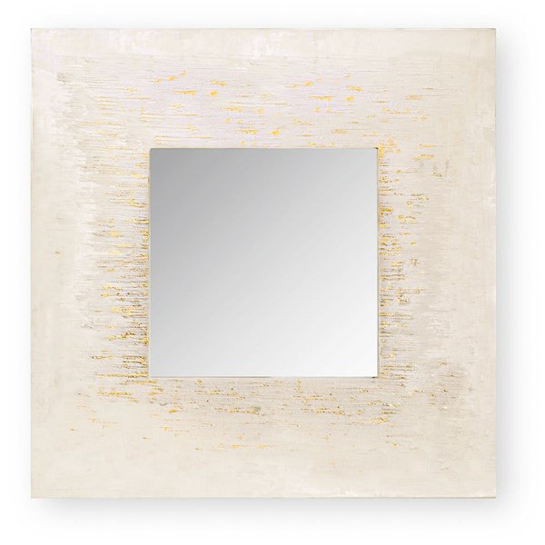 Square Golden Bracon Luxury Mirror