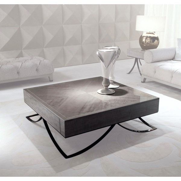 Square Vito Coffee Table With Sycamore Veneer