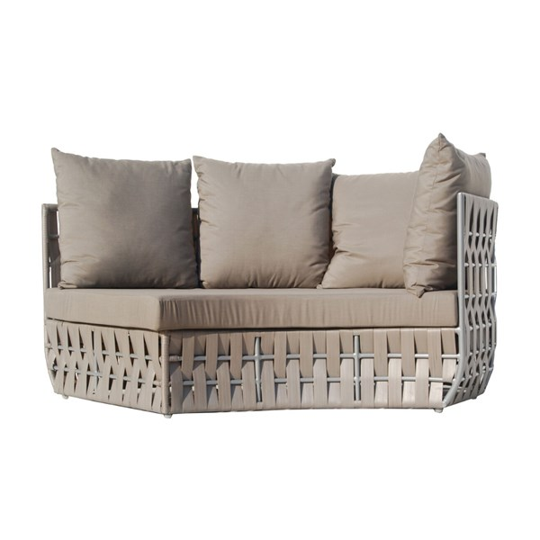 Strips Right Curve Sofa