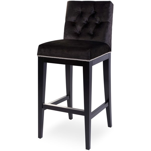 The Lucas Upholstered Bar Stool