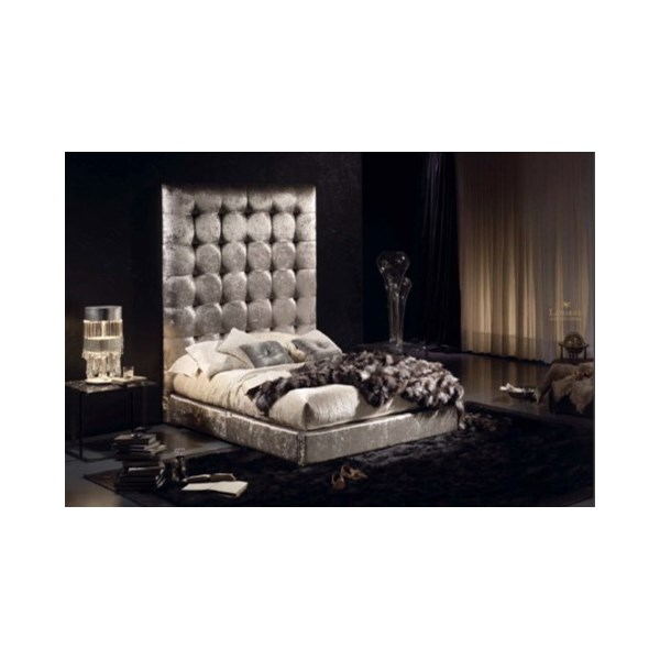 Tycoon Upholstered Button Tufted Bedstead
