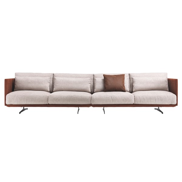 Touched D Veron Sectional Leather Sofa