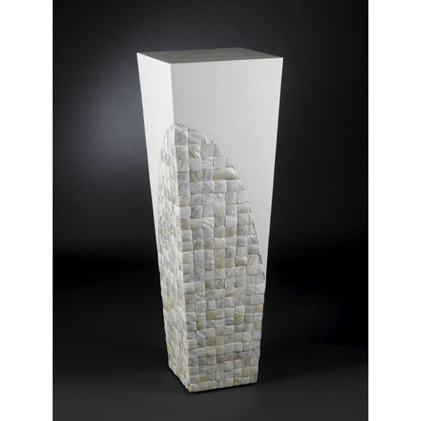Luxury White Mother Of Pearl 120cm Tall Column