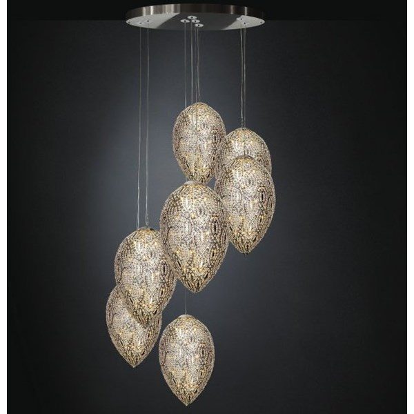 Luxury LED 263 cm drop Asfour Crystal chandelier