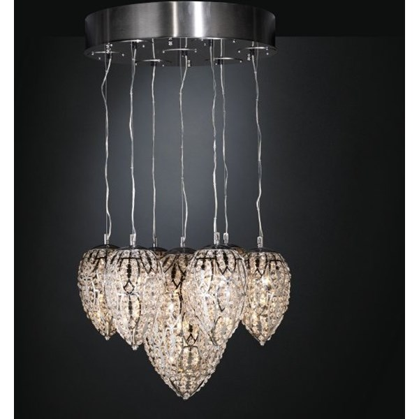 Luxury 120 cm height Asfour Crystal Chandelier
