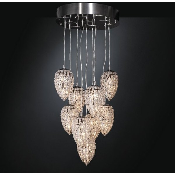 Luxury 140 cm height Asfour crystal chandelier