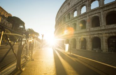 Colosseum by Bike