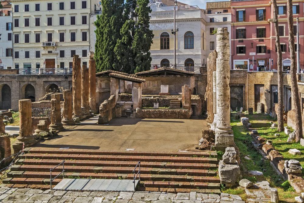 Pompey's Theatre Rome