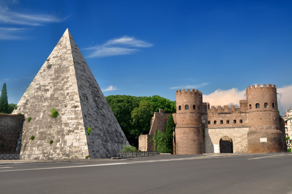 Pyramid in Rome