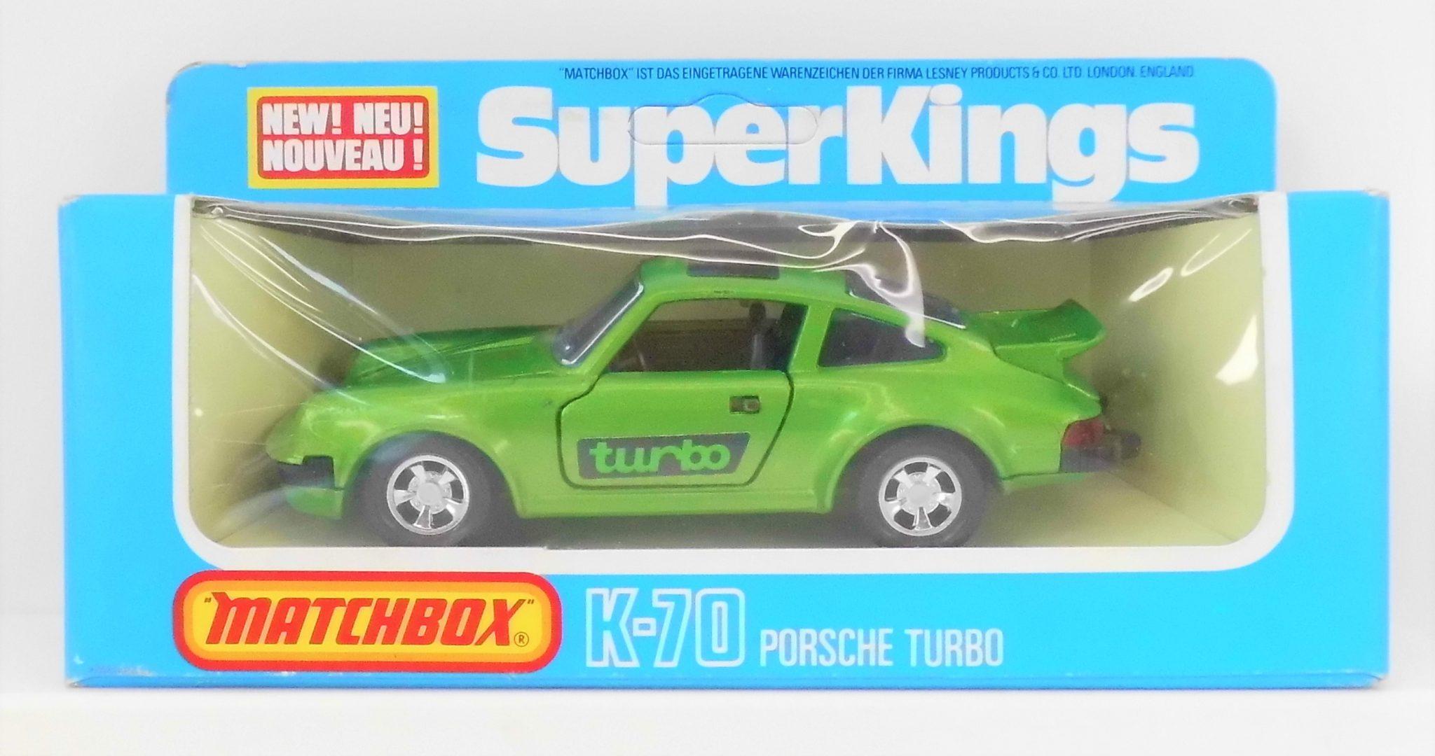 Matchbox Super Kings Porsche Turbo K 70 Toy Hunter Uk Retro Vintage Toys