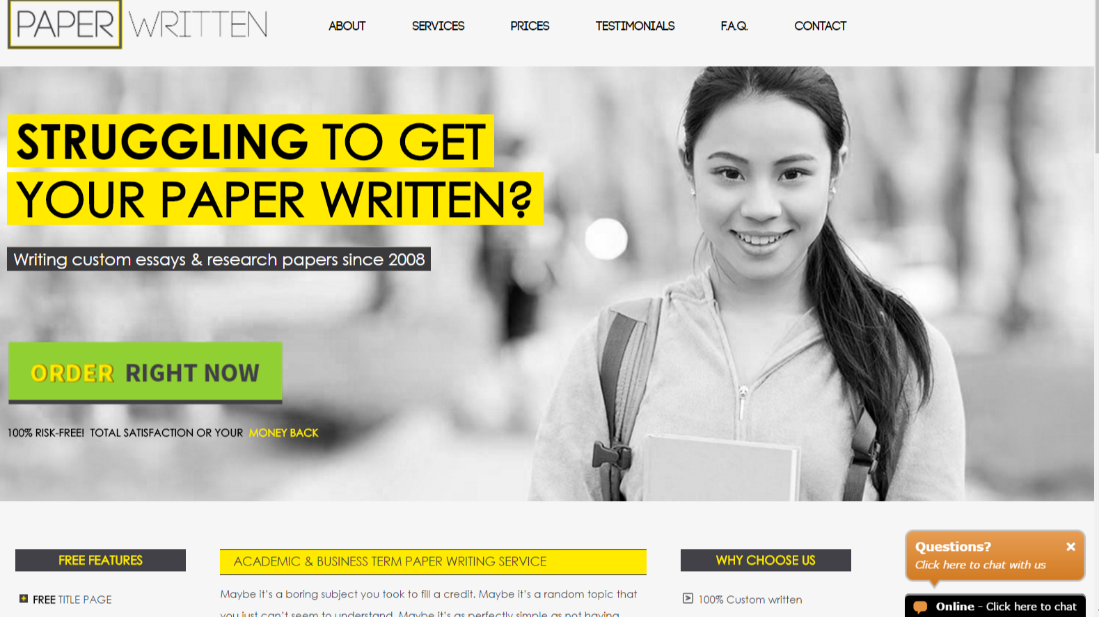 online paper writing service reviews