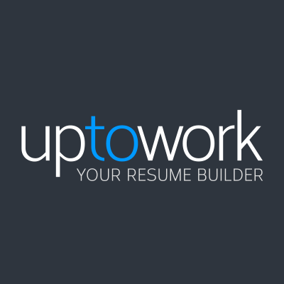 uptowork your resume builder logo
