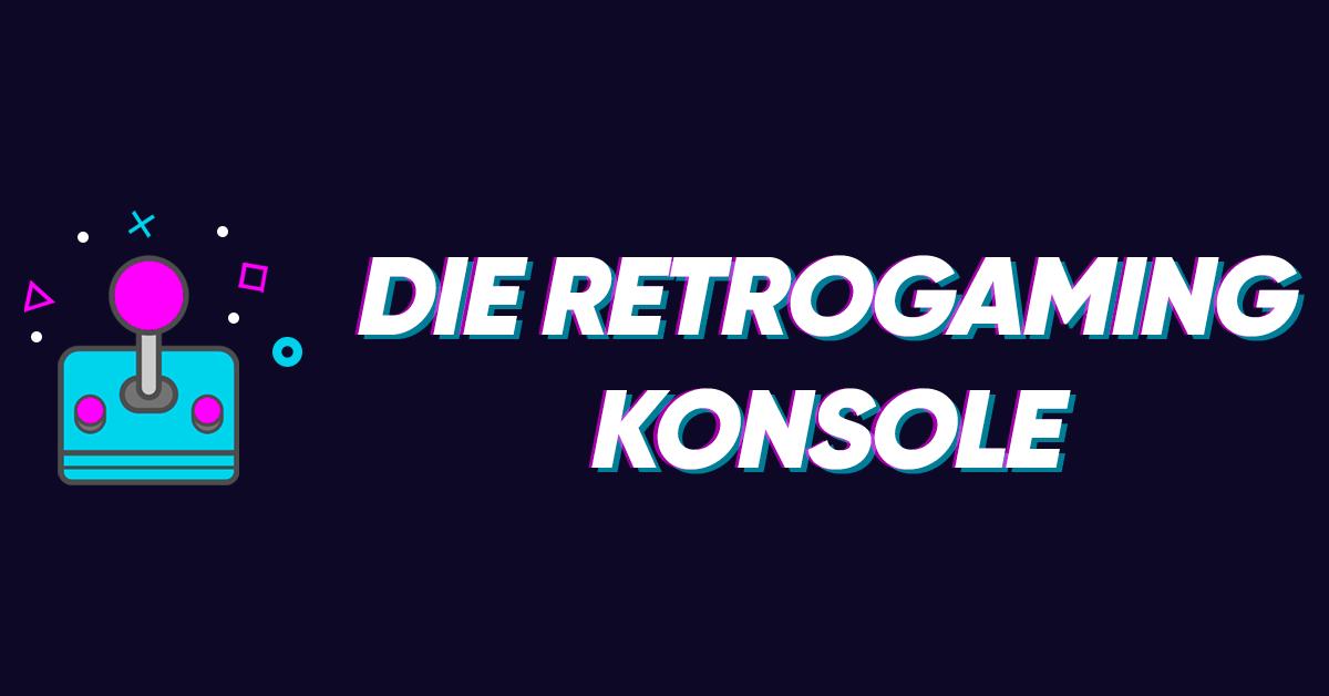 Die Retrogaming-konsole
