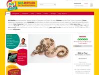 Reptilische Dating-Website
