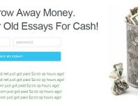 cash for essays legit