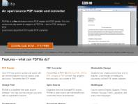 Free and open source PDF viewer and PDF printer - PDF lite Reviews