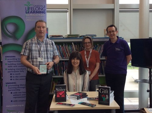 UNISON promotes Reading Ahead image
