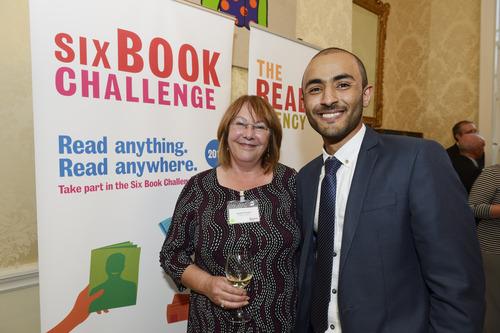 Award winner Mohamed credits the Six Book Challenge image