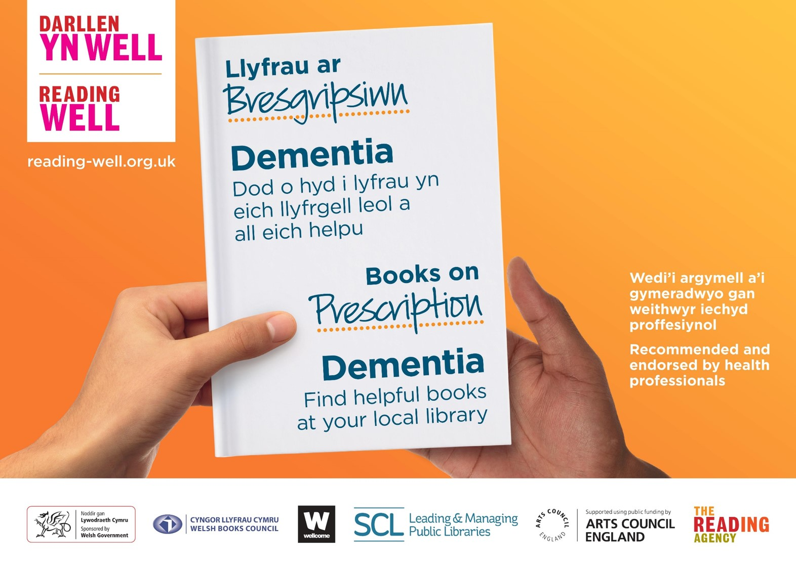 Reading well wales dementia header