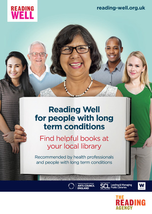 Small jpeg for reading well for long term conditions poster