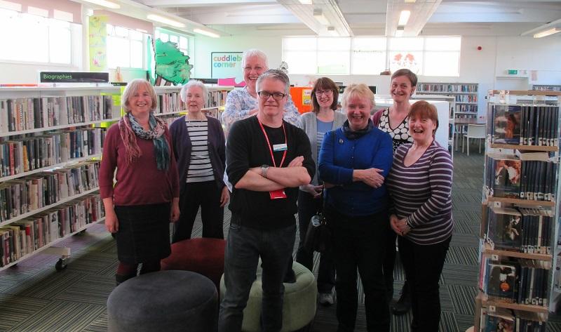 Large portobello library book group